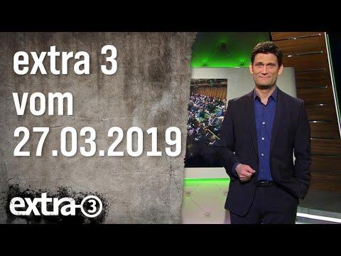 Extra 3 vom 27.03.2019 | extra 3 | NDR