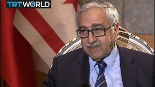 One on One: Interview with Turkish Cypriot President Mustafa Akinci on Cyprus' current  situation