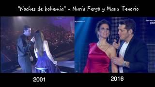 """Noches de bohemia"" - Nuria Fergó y Manu Tenorio (2001 - 2016)"