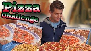 Wie viel Pizzen kann man(n) essen? | Pizza Challenge