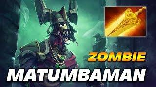 MATUMBAMAN ZOMBIE UNDYING with Radiance - Dota 2 Pro Gameplay