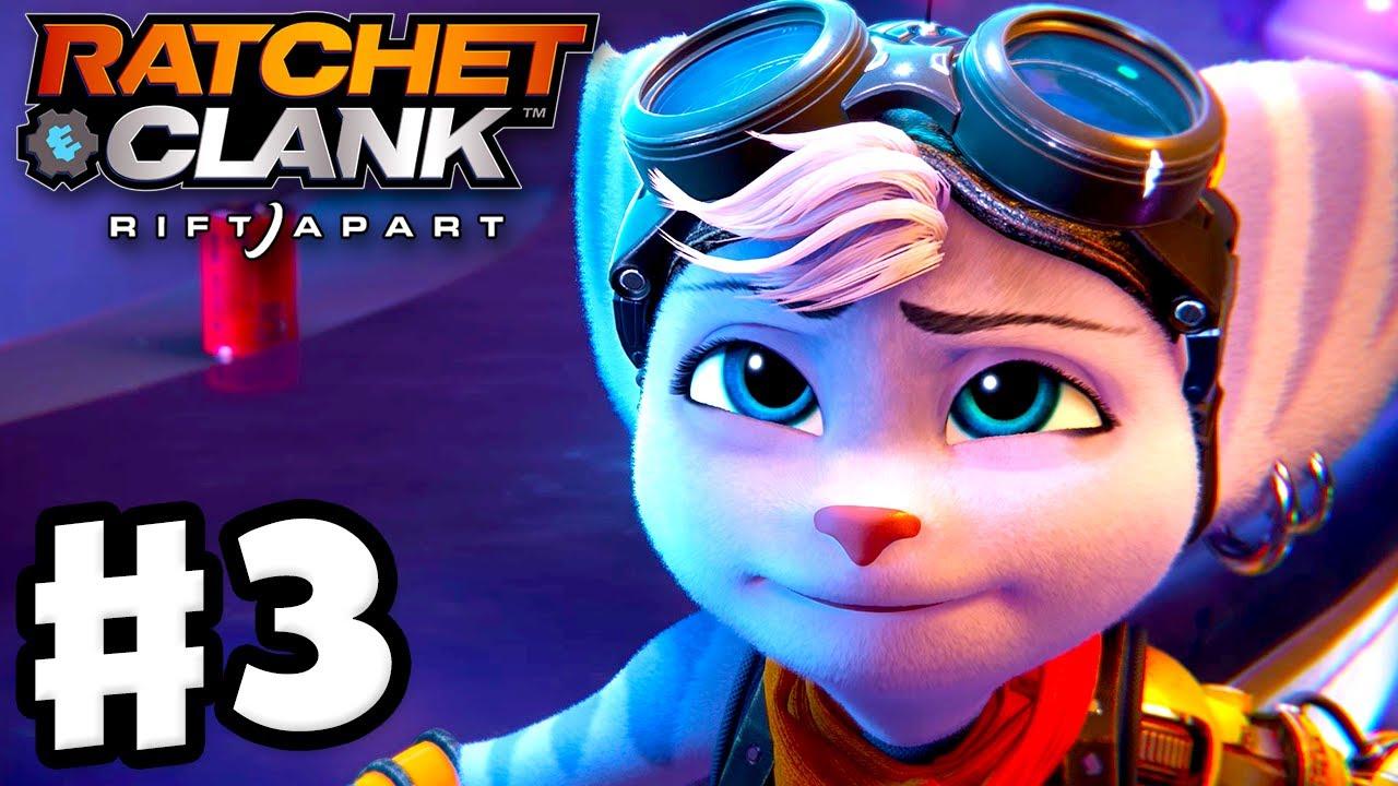 Ratchet & Clank: Rift Apart - Gameplay Walkthrough Part 3 - Zurkie's Arena and Sargasso 100%! (PS5)