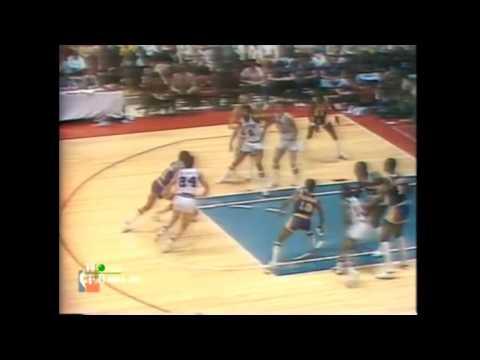 1980 NBA Finals - Los Angeles vs Philadelphia - Game 6 Best Plays
