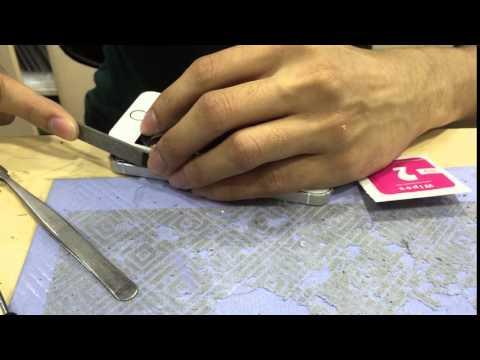 Plyer untuk mengikis bracket bezel iPhone 5 5S