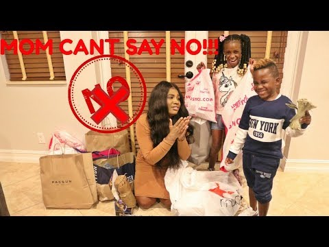 IF KIDS WERE IN CHARGE! MOM can't say NO for 24 Hours Challenge