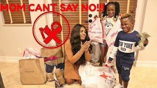 IF Yaya and Dj WERE IN CHARGE! MOM can't say NO for 24 Hours Challenge