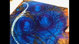 68 - Epoxy Resin Art - Stunning colour combo