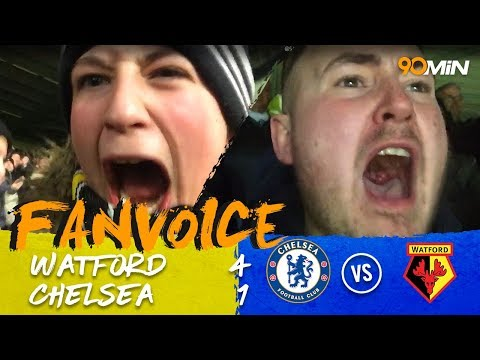 Watford 4-1 Chelsea | Watford score three goals in eight minutes to destroy Chelsea! | FanVoice