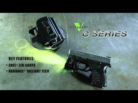 Viridian® C-Series Overview: Laser/Light for Compact Pistols