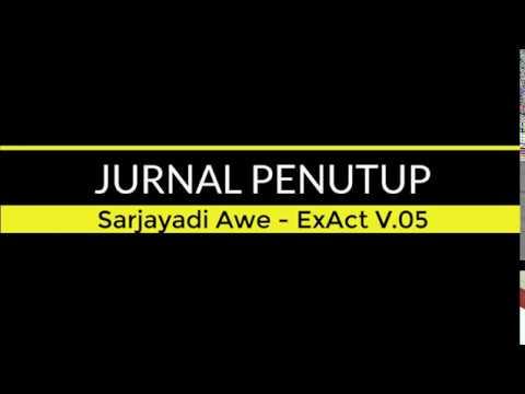 JURNAL PENUTUP ExAct V.05