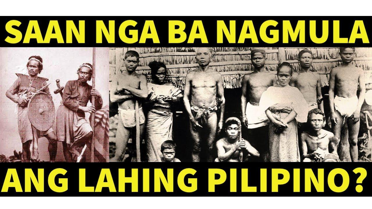 Download ANG PINAGMULAN NG LAHING PILIPINO