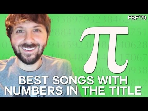 BEST SONGS WITH NUMBERS IN THE TITLE - HAPPY PI DAY