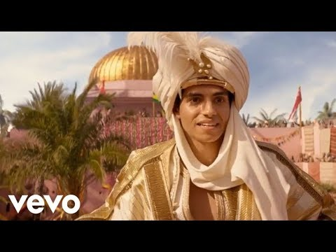 Аладдин (2019) - Принц Али   Клип (Песня Джинна) из Фильма [HD] - Полная Версия на Русском.