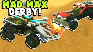 Mad Max Derby Challenge! - Scrap Mechanic Multiplayer Gameplay - Building and Crashing Toy Vehicles!
