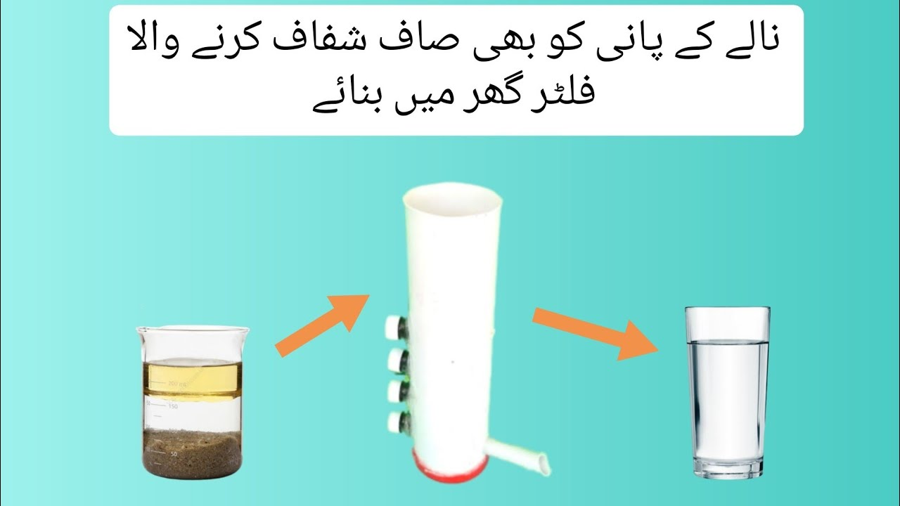 how to filter contaminated water