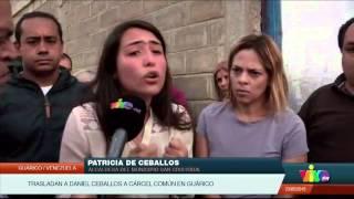 Impiden a Patricia de Ceballos ver a Daniel Ceballos en cárcel de Guárico