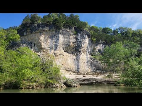 Floating War Eagle Creek In Arkansas
