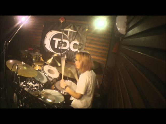 ??? drum cover - Famous last words