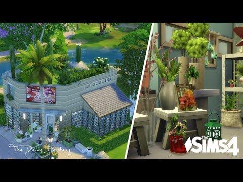 LES SIMS 4 - SPEED BUILD - Ep 5/21: Fleuriste