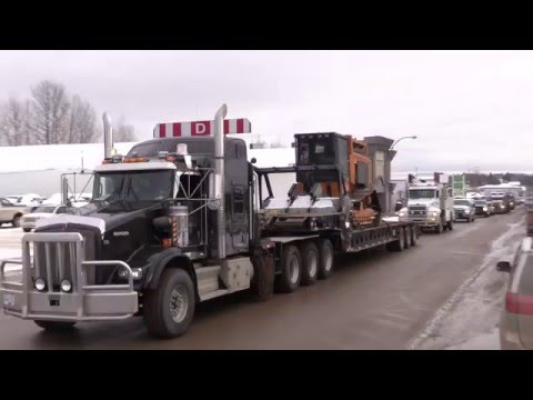 Fort Nelson Truck Rally - Yes to LNG