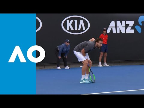 Stan Wawrinka v Ernests Gulbis match highlights (1R) | Australian Open 2019