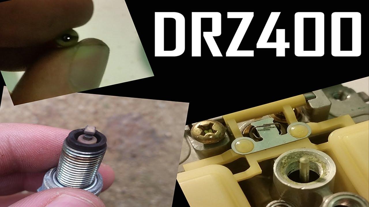 DRZ400SM dies with sharp throttle input
