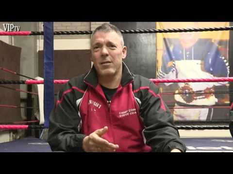 VIPtv visits Jimmy Egan's Boxing Academy ahead of Saturday show