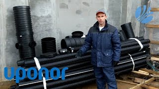 видео Трубы для дренажа и ливневой канализации