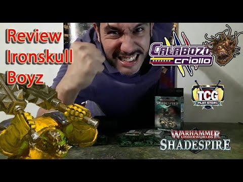 Unboxing de Ironskull Boyz de Warhammer Underworlds |