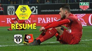 Angers SCO - Stade Rennais FC ( 3-3 ) - Résumé - (SCO - SRFC) / 2018-19