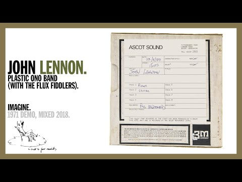 John Lennon - Imagine (original demo)