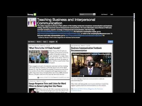 New! Business Communication Online Magazines