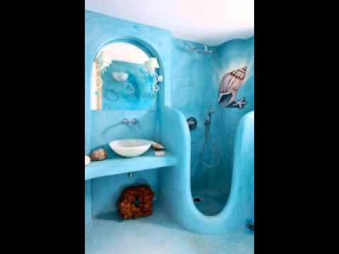 Easy DIY Beach Bathroom Design Decorating Ideas