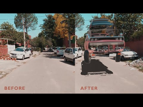 CGI VFX CAR MORPHING AND COMPOSITING | TUTORIAL | ELEMENT 3D | AFTER EFFECTS | NPS3D | JULY 2019