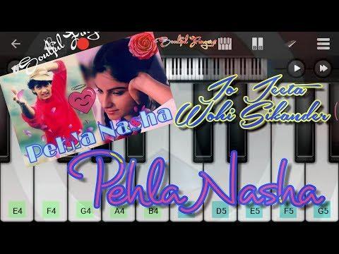 Pehla Nasha Piano Tutorial    Soulful Fingers   