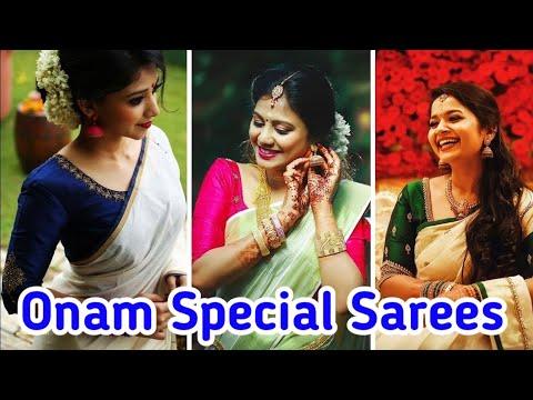 Nayanthara Kerala saree Nayanthara Chakravarthy