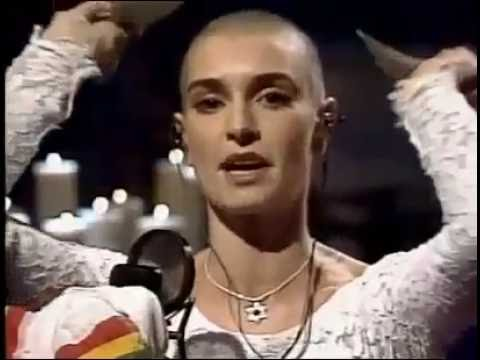 Fight the REAL Enemy! Bob:Marley's 'War' performed by Sinéad o'Connor!