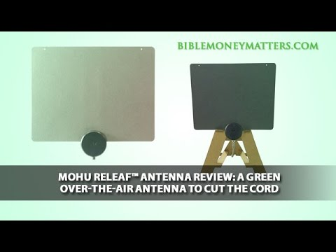 Mohu Releaf™ Antenna Review: A Sustainable Over-The-Air Antenna To Cut The Cord