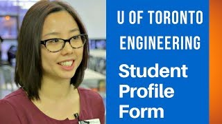 U of T Engineering Student Profile Form(Applicants to U of T's Applied Science and Engineering must submit a Student Profile Form to complete their supplemental application. U of T Recruitment ..., 2015-02-06T19:33:59.000Z)