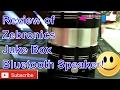 Review of Zebronics Juke Box Bluetooth Speaker!