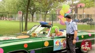 Clown Soaks Cop