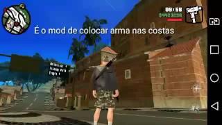 Mod arma nas costas(arma en la espalda) GTA SAN ANDREAS ANDROID