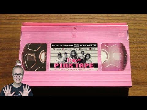 Unboxing  F(x) 에프엑스 2nd Korean Studio Album Pink Tape
