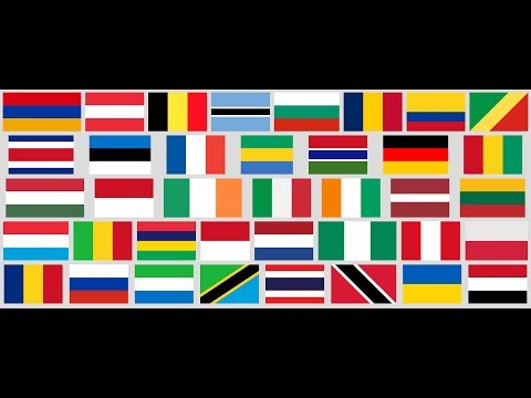 CSS the world... flags (level #1 solution)