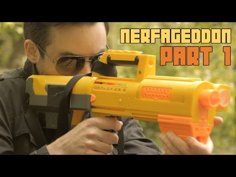 Most Epic Nerf Battle Ever - Nerfageddon pt1 : The Nights at the Round Table Finale