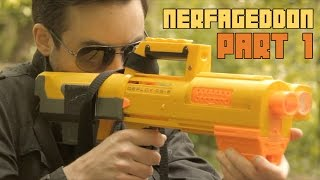 Epic Nerf War - Nerfageddon pt1 : A Fistful of Foam | The Nights at the Round Table Finale