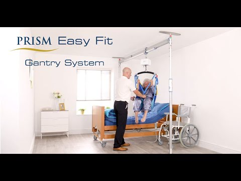 Transferring a Patient Using a Prism Easy Fit Gantry System & CP200  Portable Hoist