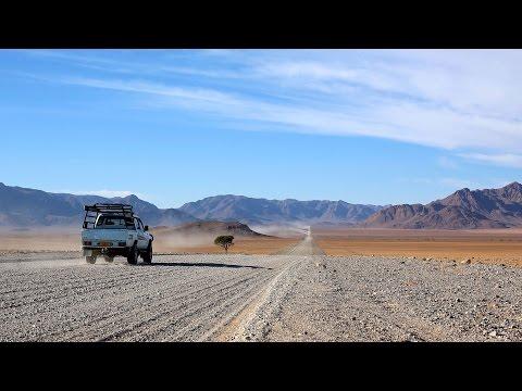 Endless Roads leading through the Namib Naukluft, Namibia