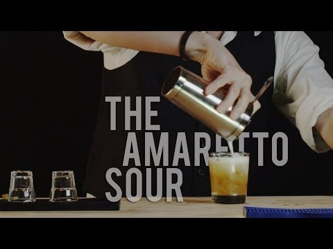 How to Make The Amaretto Sour - Best Drink Recipes