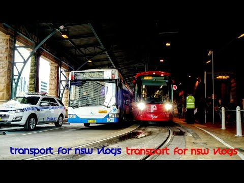 Transport for NSW Vlog No.979 Light Rail Replacement Buses - Central